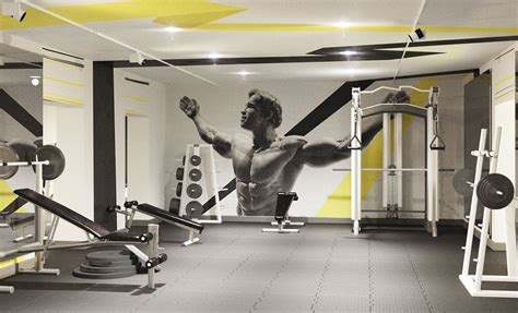 design interior gym fitness club quot titan gym quot interior design and 3d on behance