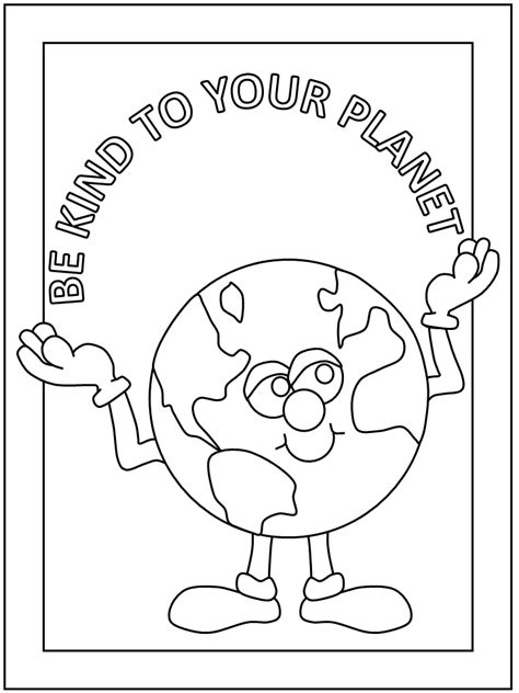 Earth Day Coloring Pages Mr Claus Lab Save The Earth Coloring Pages