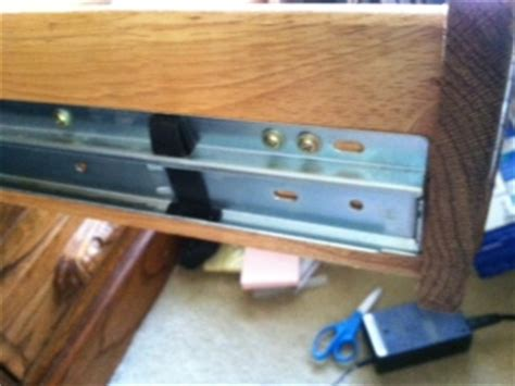 Remove Desk Drawer by Removing Drawers From Executive Oak Desk