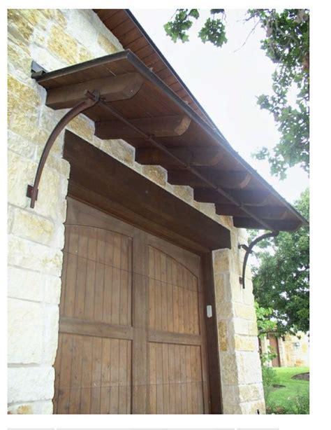 wooden door and awning door awning ideas pinterest
