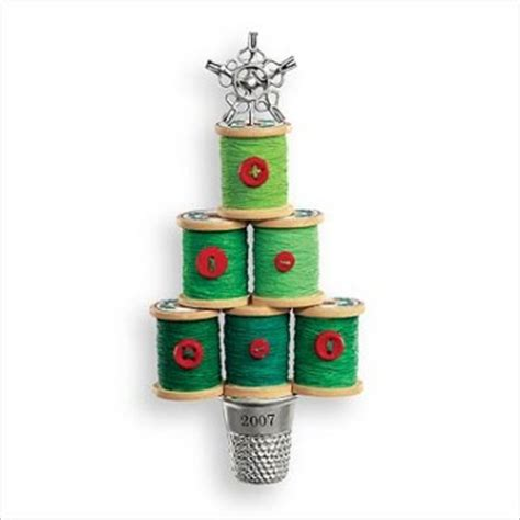 2007 notions of christmas hallmark ornament at hooked on