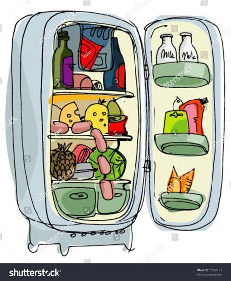 clipart refrigerator cleaning amp clip art images 13425