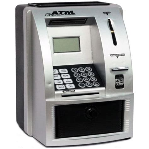bank atm machine electronic savings atm my personal atm money coin