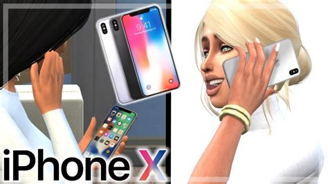 tutorial iphone x the sims 4 iphone x mod tutorial doovi