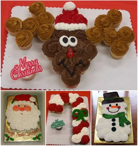 ideas products christmas pull apart cupcakes