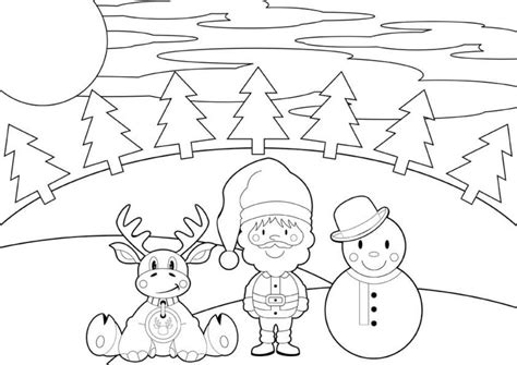 printable christmas placemats to color printable cartoon reindeer christmas coloring pages