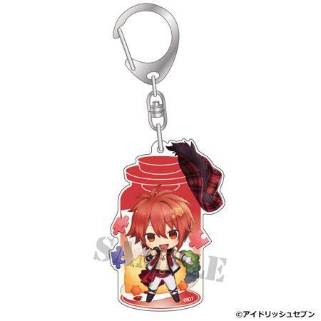 Idolish 7 Keychain Casual Style Iori amiami character hobby shop charatoria keychain idolish 7 riku nanase back order