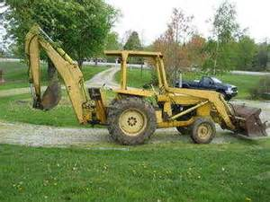 Ford 4500 Backhoe Used Farm Tractors For Sale Ford Diesel 4500 Backhoe