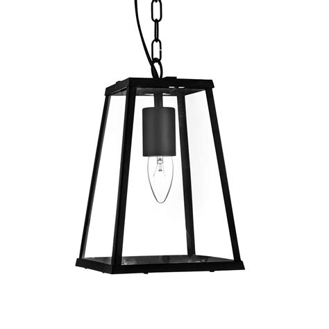 Black Lantern Ceiling Light Searchlight 4614bk Lanterns 1 Light Black Ceiling Pendant