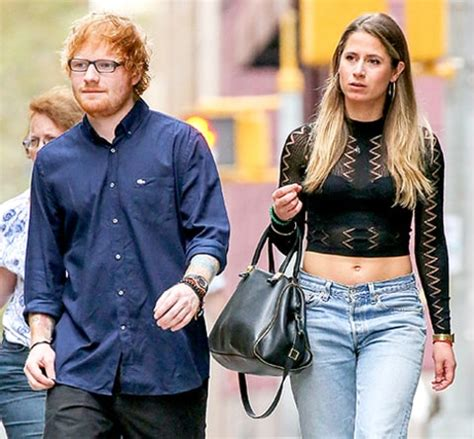 ed sheeran fiance ed sheeran steps out with new girlfriend cherry seaborn