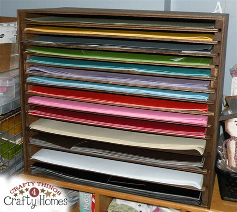 Craft Paper Storage Rack - 149 best images about best craft space organization on