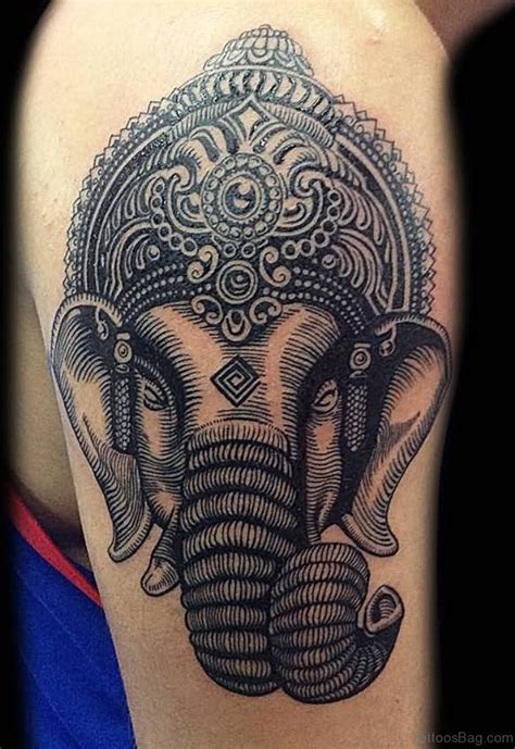ganesh tattoo 92 lord ganesha tattoos on shoulder