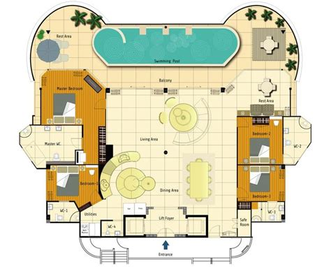 pent house plans 97 best penthouse images on pinterest apartment floor plans apartments and floor plans