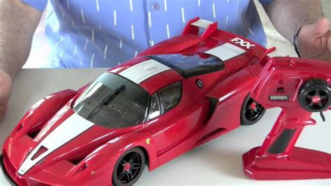 Ferrari R C by Ferrari Fxx Remote Control Car Youtube