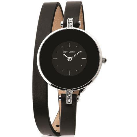 Montre Pierre Lannier 121H633   Montre Double Bracelet Noire Femme sur Bijourama   montre Femme