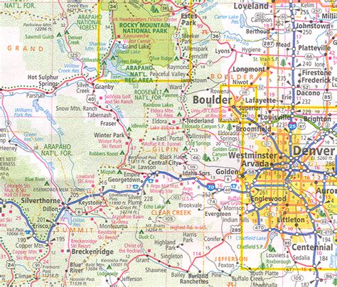 to colorado map related keywords suggestions for large map of colorado