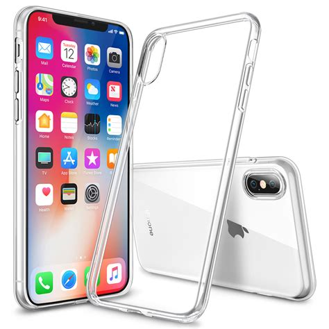 g iphone x flexi slim gel for apple iphone x clear