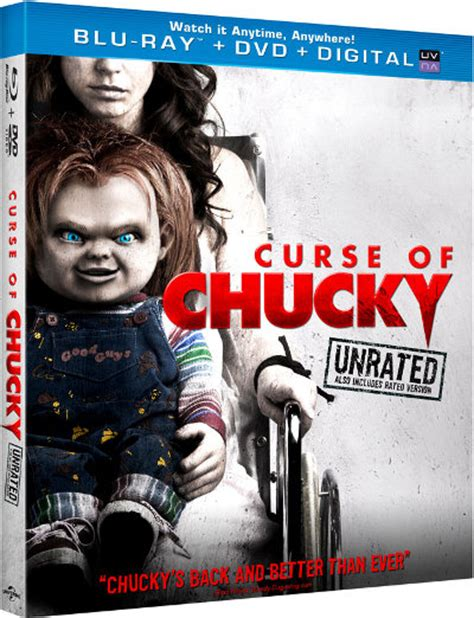 chucky film order curse of chucky with unrated edition in the us blu ray