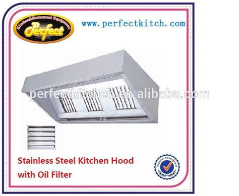 commercial kitchen extractor stainless steel commercial kitchen extractor hood