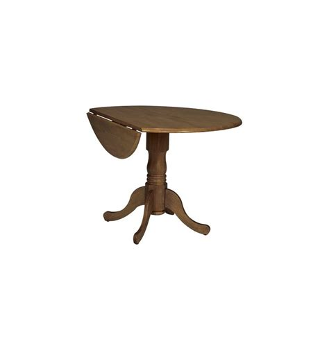 42 Inch Drop Leaf Pedestal Table by 42 Inch Dropleaf Dining Tables Wood You