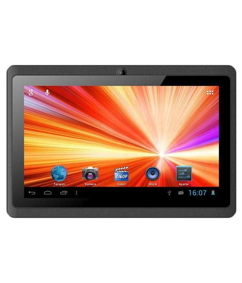 4 Wifi Only chion 707 wifi only black tablets at low