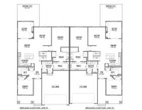 Twin House Plans Marvelous Twin Home Plans 7 Twin Home Floor Plans