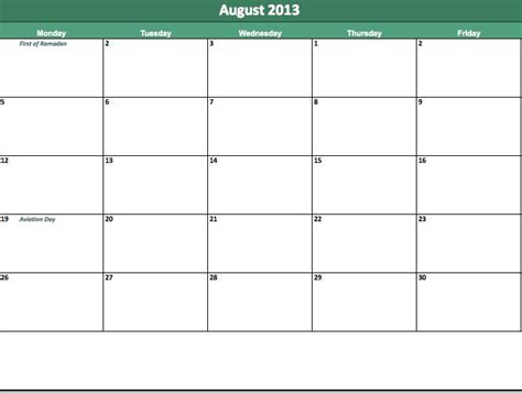 august 2013 calendar printable search results for august 2013 appointment calendar free