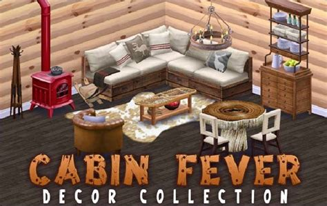 Cabin Fever Decor by Image Cabin Fever Decor Collection Png Disney City