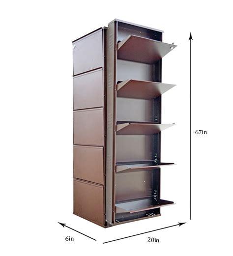 vladiva space saving five level shoe rack by vladiva