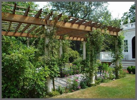 Arbor Backyard by Style Up Your Landscape With Gorgeous Pergola Designs