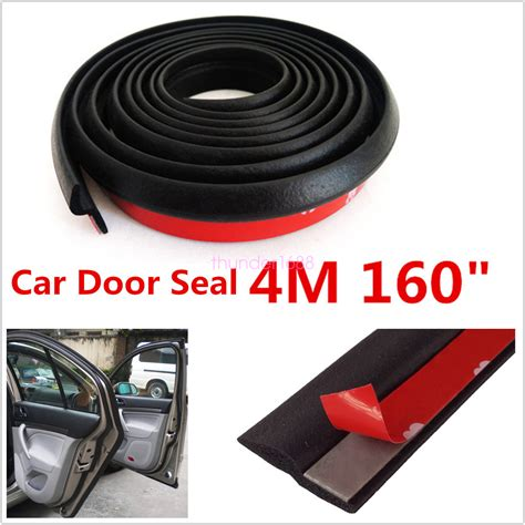 How To Seal A Car Door From Leaking by 4m Z Type Car Door Rubber Seal Hollow Pad Weatherstrip Sealing Black Ebay