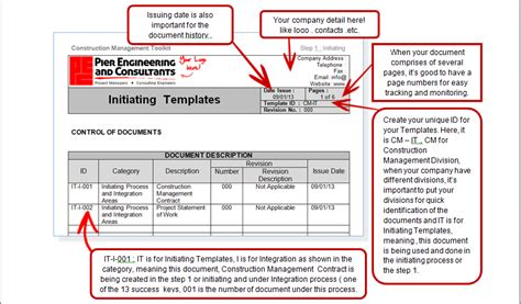Manage Construction Templates And Documents The Easy Way Manage Construction Project The Easy Construction Project Documentation Template