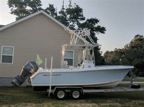 boats for sale in outer banks nc sea hunt 22 cobia tower 38000 manteo boats for sale