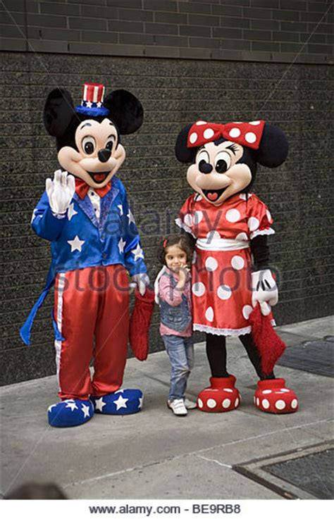 St Big Mickey Kid mickey minnie mouse disney characters stock photos