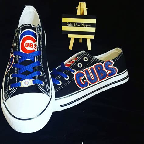 custom black chicago cubs and baseball fans sports