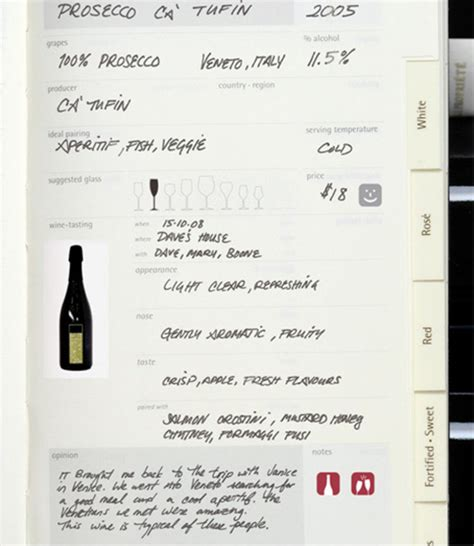 wine journal template the new moleskine recipe and wine journals won my