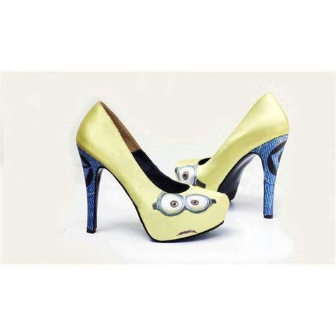 minion shoes minion heels anyone minion heels