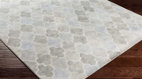 pattern grey rug hand tufted brilliance area rug light gray slate pattern