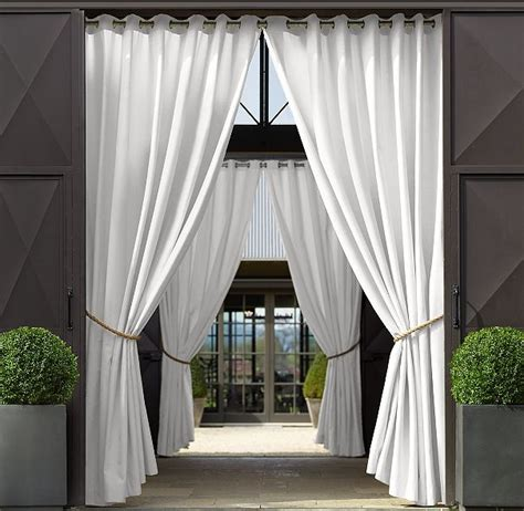 Outdoor Patio Curtains » Home Design 2017