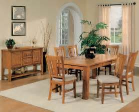 Oak Dining Room Furniture Sets Oak Dining Room Table Chairs Marceladick