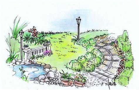 disegno giardino giardino un progetto per gli spazi esterni