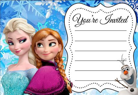 free printable birthday party invitations on invitation card for