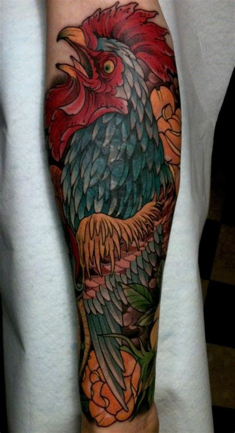 tattoo granby quebec 9 best rooster tattoos images on pinterest rooster