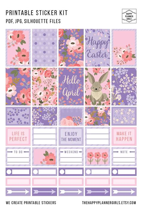 happy planner free printable stickers 3281 best planner stickers images on pinterest happy