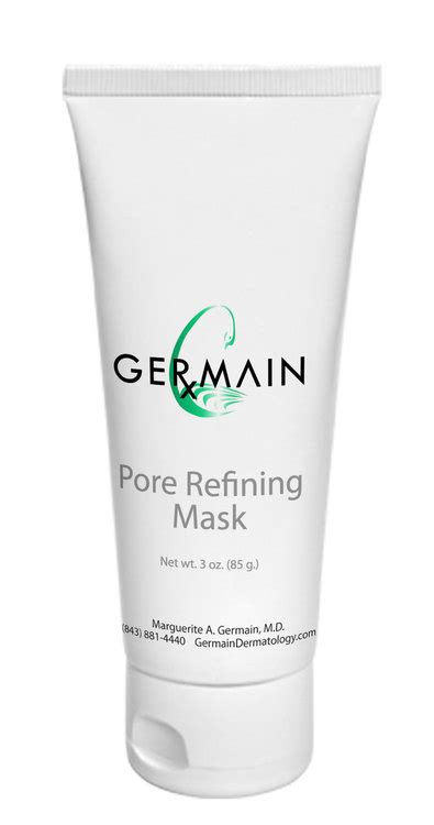 2 Step Anti Aging Detox Pore Refining Charcoal Mask by Pore Refining Mask Germain Dermatology