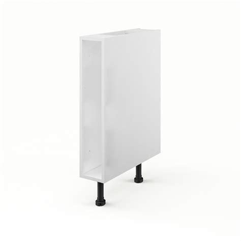 caisson cuisine 15 cm caisson de cuisine bas b15 delinia blanc l 15 x h 85 x p