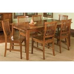 home styles arts crafts 7 dining set cottage oak