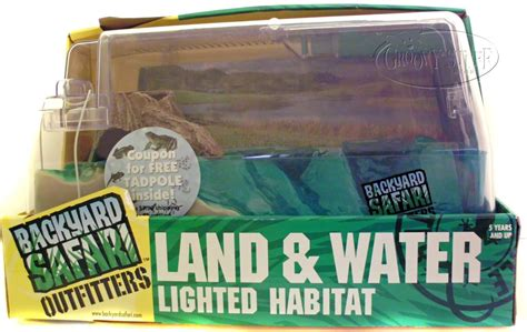 backyard safari land water habitat backyard safari tadpole habitat instructions outdoor