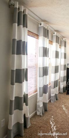 how to dress a large window 3 window curtains on window curtains large