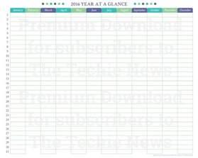 at a glance calendar template at a glance calendars 187 calendar template 2017